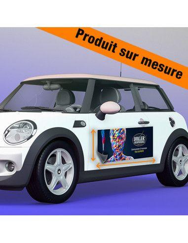 Magnétique véhicule - Sur mesure