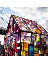 Film Dépoli - Transparent coloré polyester